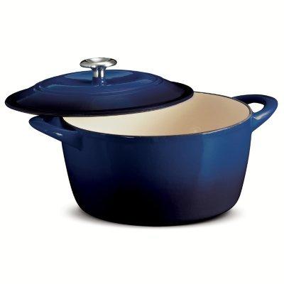 Tramontina 6.5 Qt Enameled Cast Iron Dutch Oven Cobalt Color ()