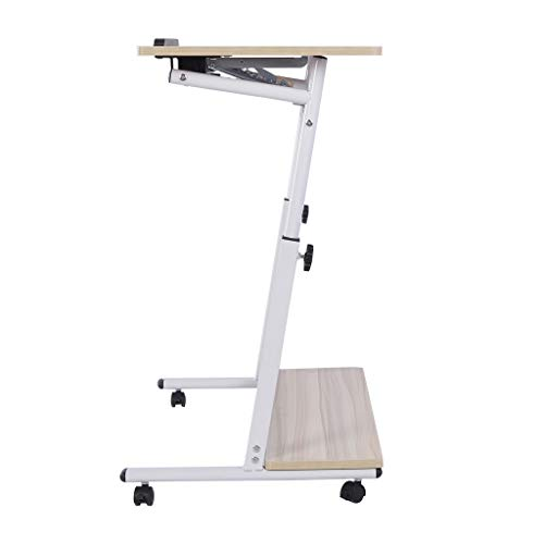 Drafting Table, Top Adjustable Drafting Table Craft Table Drawing Desk Hobby Table Writing Desk Studio Desk-Ship from US! (White)
