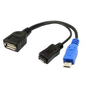 47 opinioni per GalaxyWorld® Micro USB OTG Y connettore cavo micro USB (maschio) USB (femmina)