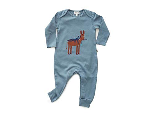 Oeuf Baby Clothes jumpercitadel bluee donkey3 6M