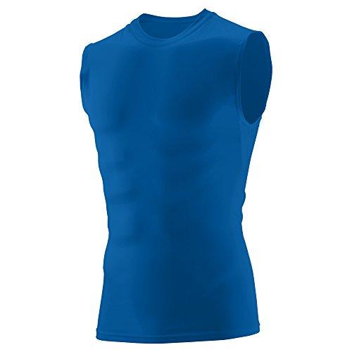 Augusta Sleeveless Sport Shirt - Augusta Sportswear Boys' Sleeveless Compression Shirt S Royal