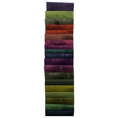(Midwest Textiles Sit 'n Sew Precut s 2.5'' Strips 40 Piece Fabric, Blender)