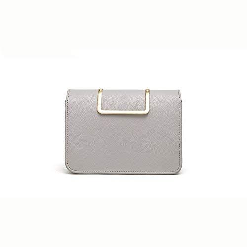 gris gris taille rétro sauvage Zijieshiye chaîne 5 Portatile Une 8 Tracolla 5cm d'épaule Borsa 21 couleur de 15 nPn4Tqvx