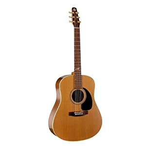 Seagull Mosaic Acoustic Wide-Neck Guitar
