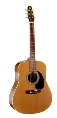 Seagull Artist Mosaic Acoustic (Adirondack Dreadnought Acoustic Guitar)