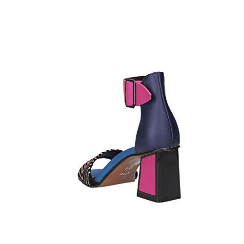 Donna Mina Fuxia S6fxqn8w 120 Wxnn0op8k Exe' Sandalo Blue Blu IED2H9W