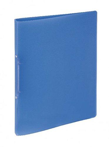 Pagna Ringbuch A4 Lucy Basic PP, 2-Ring-Mechanik, 16 mm, blau