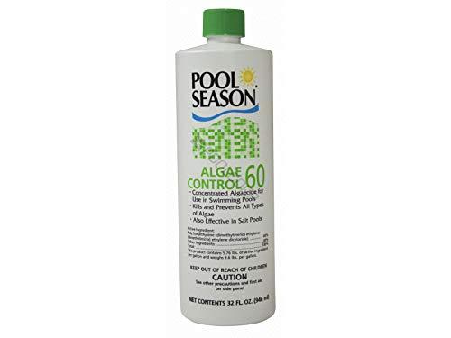 Pool Season Algaecide 60 1 Qt. Bottle for Swimming Pools by Pool Season