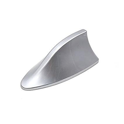 Zanteca - Antena de plá stico para coche AM/FM, tipo aleta de tiburó n tipo aleta de tiburón