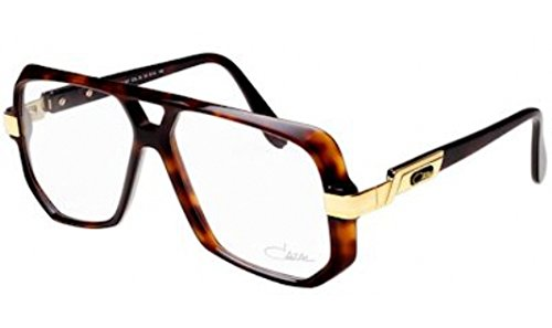 Cazal Eyeglasses Legends 627 80 Havana Brown/Gold Optical Frame (Cazal Eyewear Mens Eyeglasses)