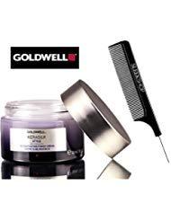 Goldwell KERASILK STYLE Accentuating Finish Creme (with Sleek Steel Pin Tail Comb) Cream (50 ml/1.6 oz)