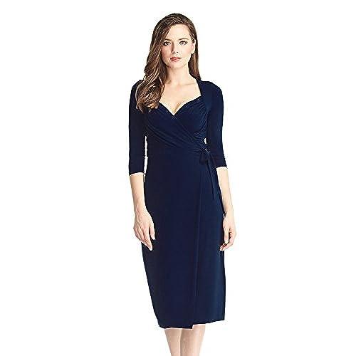 3/4 Sleeve Dress for Wedding Guest: Amazon.com