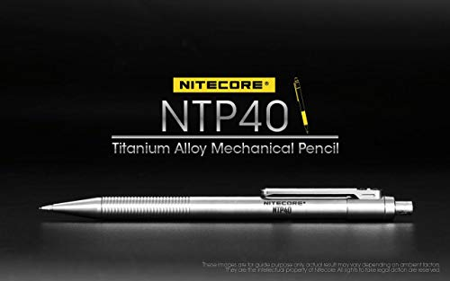 Nitecore Titanium Alloy Mechanical Pencil NTP40 by Nitecore (Image #5)
