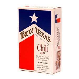 Truly Texas Chili Spice Mix - 6 Pack by Truly Texas