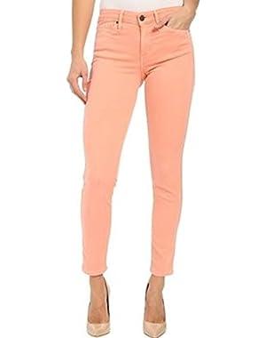 Jeans Women's Ankle Skinny Denim Pants (8, Desert Flower)