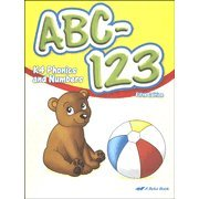 ABC-123: K4 Phonics and Numbers, 5th Edition