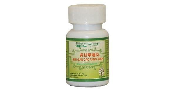 Amazon.com: Zhi Gan Cao Tang Wan, 200 Pills, Ever Spring N132: Health & Personal Care