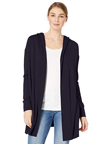 - Amazon Brand - Daily Ritual Women's Supersoft Terry Hooded Open Sweatshirt, Navy, XX-Large