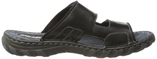Dockers by Gerli Men's 38me008-407100 Mules, Black Black (Schwarz 100)