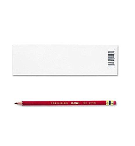 2 DOZEN: Prismacolor Col-Erase Erasable Colored Pencil Carmine Red