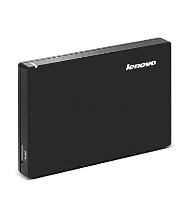 Lenovo 1TB External Hard Drive (Black) <span at amazon