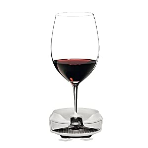 Boaters Wine Goblet Holder by Bella D'Vine for Stemless & Stemmed glasses, Comes With a 3 Prong Suction Base for Boats, Sailboats, bath and Hot Tubs, Wine Give-away in WHITE