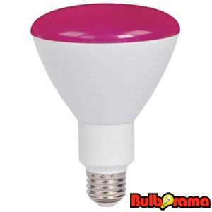 (DIMMABLE LED BR30 PINK FLOOD LIGHT BULB 8 WATTS PINK SUPRA LIFE LED LIGHT BULB)