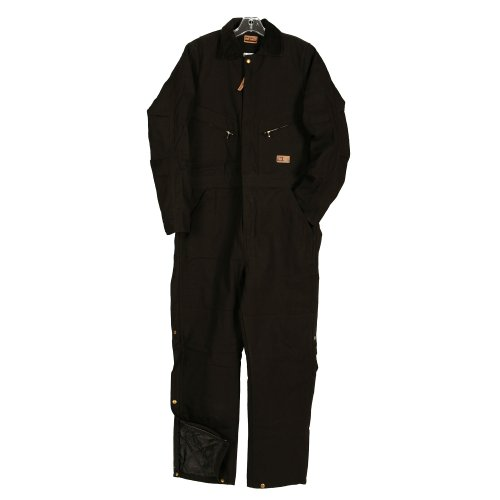 Five Rock Deluxe Insulated Coverall in Black SM