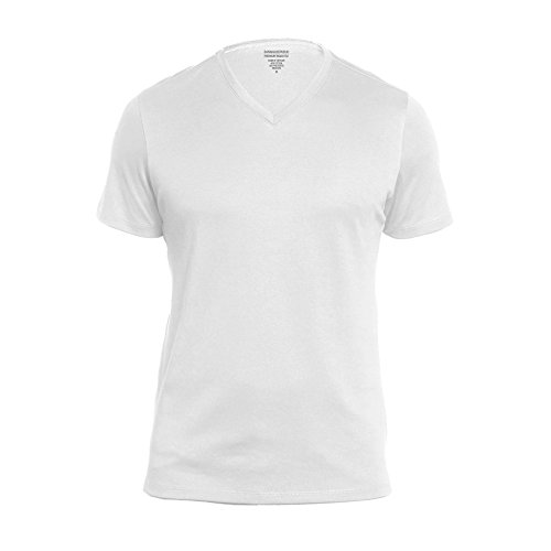 Banana Republic Premium-Wash V Neck Tee (X-Large, -