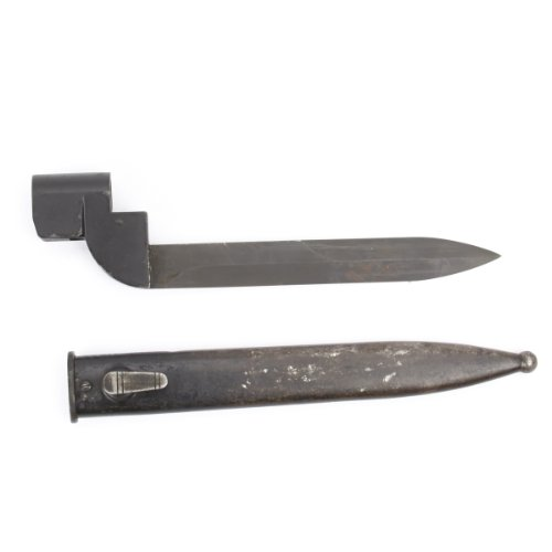 (Original South African Enfield Bayonet No. 9 for Lee-Enfield Rifle No. 4 Mk I with Scabbard)