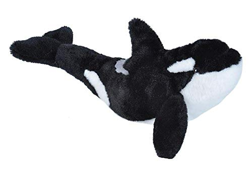 (Wild Republic Orca Plush, Stuffed Animal, Plush Toy, Gifts for Kids, Cuddlekins 13 inches)
