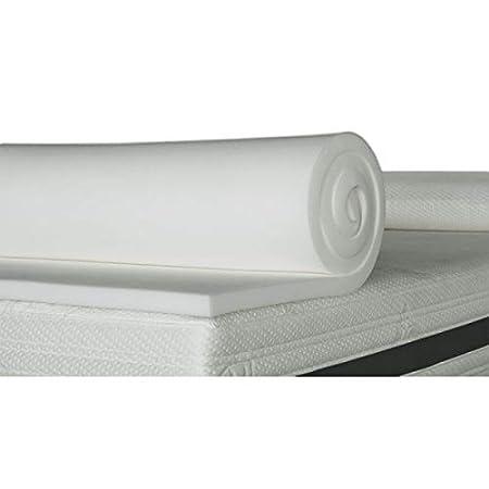 ventadecolchones.com Plancha de Viscoelástica para Topper Sin Funda (160 x 180 cm - 3 cm de Visco)