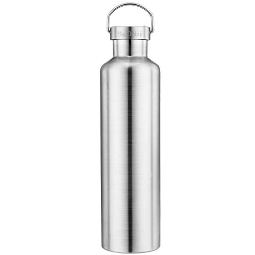 Beionxii Stainless Steel Water Bottle with Lid 36oz Double Wall Vacuum Insulated Leak Proof Thermos Flask, Keep Liquid 24 Hours Cold / 12 Hours Hot, Wide Mouth Sports Bottle - BPA Free