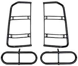 LAND ROVER DISCOVERY 2 1999-2004 GENUINE REAR LIGHT GUARD SET - 4 GUARDS PART: STC50379 by Land Rover (Image #3)