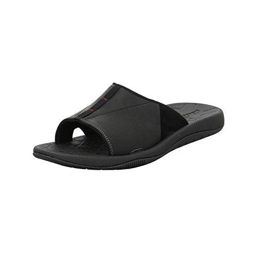 Clarks - Zapatillas de estar por casa para hombre negro negro