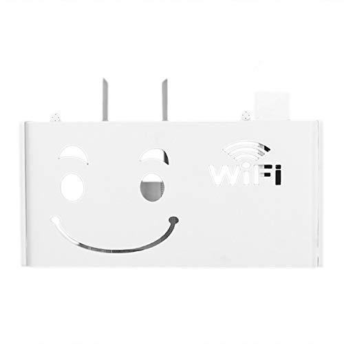 Amazon Com Sodial Wireless Wifi Router Storage Box Wood Plastic