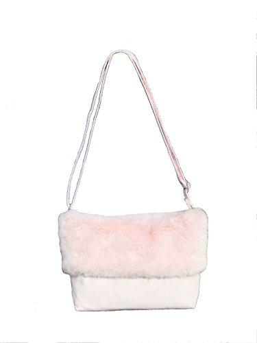 LONI - Bolso al hombro para mujer rosa rosa pastel Medium rosa pastel