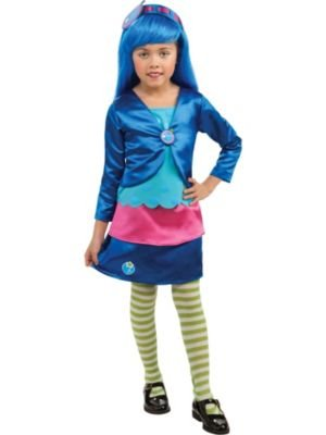 Deluxe Blueberry Muffin Costume for Girls - Toddler ()