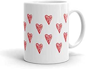Red Heart on Mug