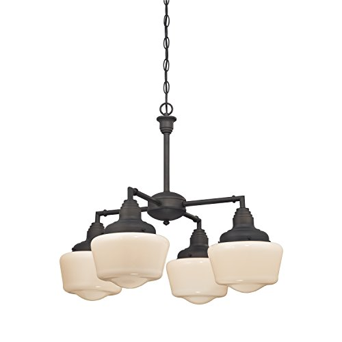 Westinghouse 6342000 Scholar Four-Light Indoor Convertible C