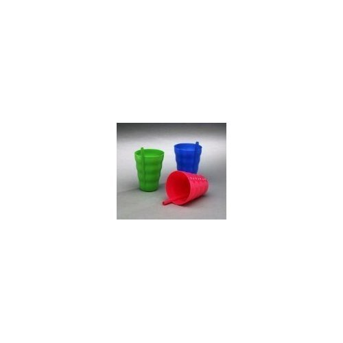 (Arrow Plastic Sip-A-Cup with build in straw, 10 Oz Assorted Colors - 6 Count …)