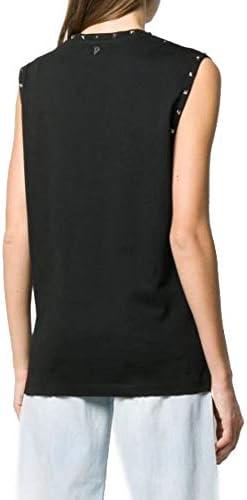 Dondup Fashion Woman S827JF0234DZG2DD999 Black Cotton Top   Spring Summer 20