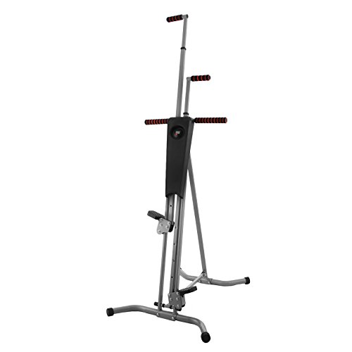 Happybuy Vertical Climber Exercise Machine 440LBS LCD Folding Climber Machine Fitness Stepper Climbing Machine Vertical Climber for Home Gym Exercise Cardio Workout Climbing Stair (P8008 Platic) by Happybuy (Image #9)