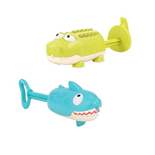 B toys by Battat – Splishin' Splash Animal Water Squirts Duo Pack – Summer...