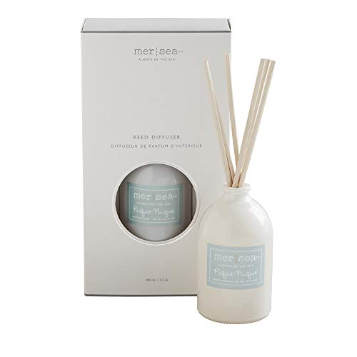 644cc74ed14d MER SEA & CO Luxury Scented Glass Diffuser - Pique-Nique - 100 ml (3+  Months)