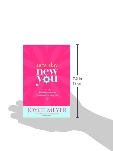 New Day New You 60 Devotions For Enjoying Everyday Life Joyce Custom Joyce Meyer Enjoying Everyday Life Quotes