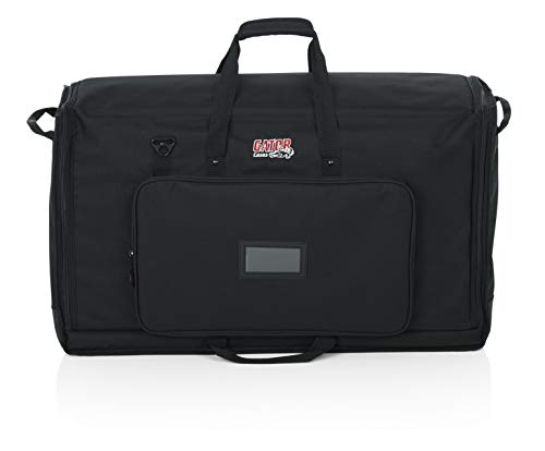 Gator Cases Padded Nylon Dual Carry Tote Bag for Transporting (2) LCD Screens, Monitors and TVs Between 27'' - 32''; (G-LCD-TOTE-MDX2) by Gator (Image #1)