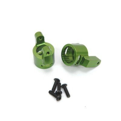 ST Racing Concepts STA80062G Aluminum Steering Knuckles for The Axial Wraith (1 Pair), Green