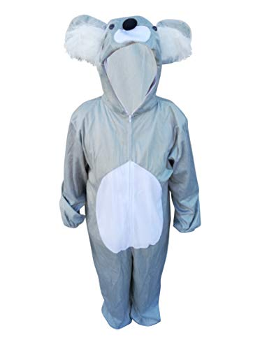 Koala bear adult-s halloween costume-s, unisex women-s men-s couple-s, J42 Size: M -