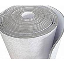 """Supershield Multipurpose 48"""" X 100' White Double Bubble Reflective Foil Insulation Reflective Foam Core (Not Cheap Bubble) DIY Insulation Weatherization Water Proof / Meets Fire Codes / Made in USA"""